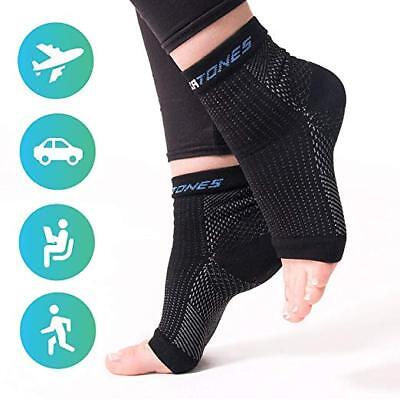 Soxatones Premium Plantar Fasciitis Relief Dr Recommended Foot Sleeves Size S/M