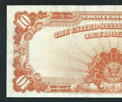 1922 $10 Gold Certificate <<< High Grade >>> Price Lowered