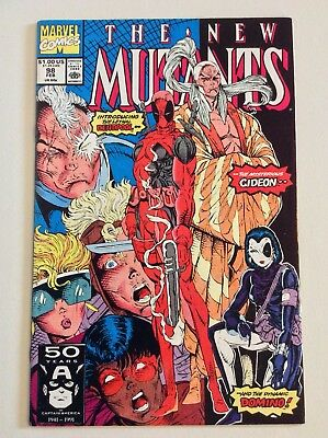 New Mutants #98 Deadpool & Domino 1st Appearance (Marvel 1991) FREE PRIORITY S/H