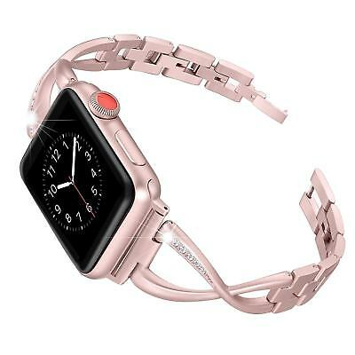 Replacement Stainless Steel Band Bracelet Strap For Apple Watch iWatch 38 42mm
