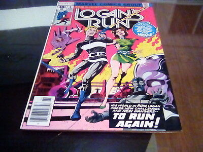 Logan's Run # 6 - 1st solo Thanos story [Marvel 1977]