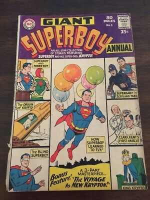 Superboy (1st Series DC) Annual #1
