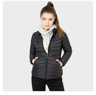 NEW Women Winter Outdoor Sports Down Jacket 90% White Goose Down Fill Power 700