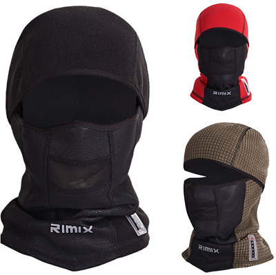 Thermal Fleece Neck Full Face Mask Winter Warmer Ski Hunting Snowboard Balaclava
