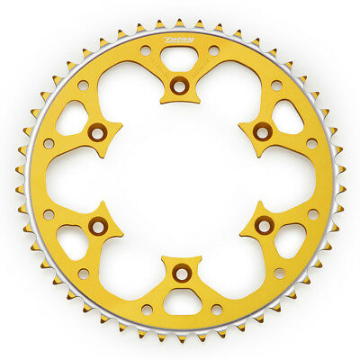 NEW Talon Mx Yamaha YZ YZF WRF 125-450 99-16 Alloy Gold Rear Sprocket 51 Tooth