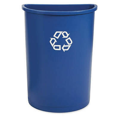 RUBBERMAID Polyethylene Recycling Container,Blue,21 gal., FG352073BLUE, Blue