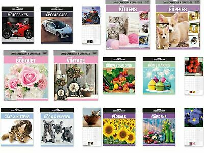 Square 2019 calendar Photographic Daily Planner Dates Monthly Pets Nature Cars
