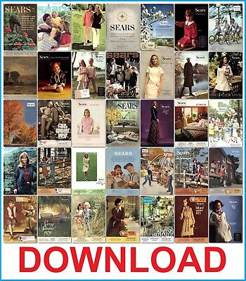 Sears Usa Mail-Order Catalogs Download Pdf