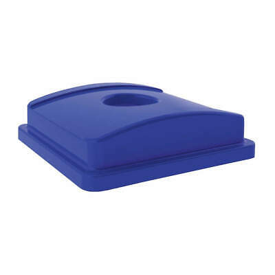 TOUGH GUY Recycling Top,LLDPE,Blue, 4UAW6, Blue