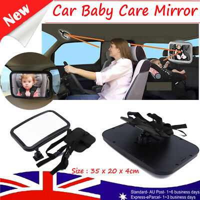New Car Baby Seat Inside Mirror View Back Safety Rear Facing Care Child Infant