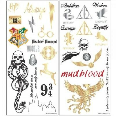 Harry Potter Temporary Tattoo Collection from BioWorld