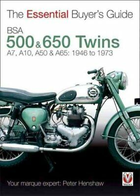 Bsa 500 & 600 Twins: The Essential Buyer's Guide by Peter Henshaw (Paperback,...