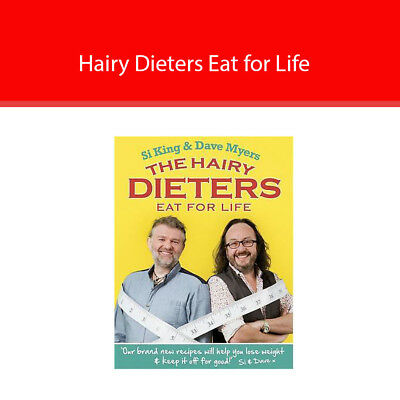 Hairy Bikers The Hairy Dieters Eat for Life Paperback Lose Weight Book 2013 New