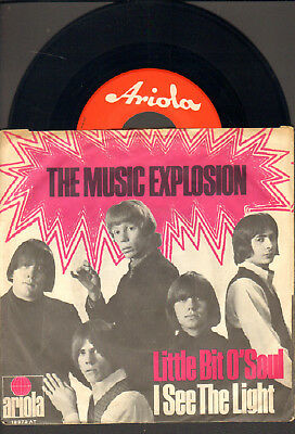 """Music Explosion-7""""-45-Ps- Little Bit O`soul- Rote Ariola-Germany- 1967"""