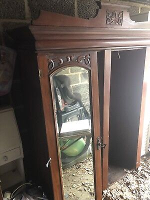 Antique 2 Door Wardrobe