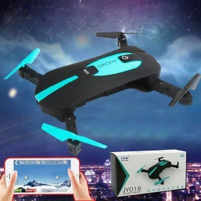 JY018 Drone WIFI FPV 720P Camera 4CH 6Axis Headless Mode Ultra thin RC UAV Drone