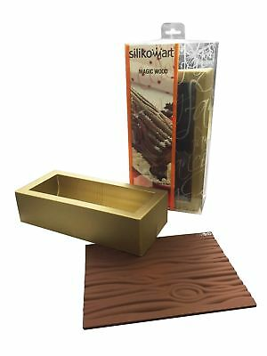Silikomart - Stampo Magic Wood Tronco Natale In Silicone