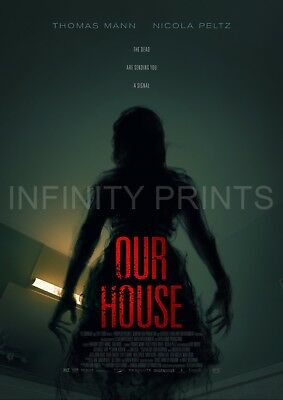 Our House Movie Film Poster A3 A4