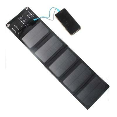10W Portable Foldable Solar Panel Outdoor Battery Charger For Hiking Camping