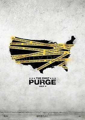 The First Purge Movie Film Poster A2 A3 A4A5