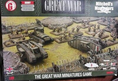 Flames of War Great War Box Mitchell's Marauders Infantry Company