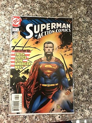 Superman In Action Comics 775 1st Appearance Manchester Black NM Supergirl Show