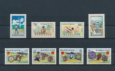 LI98860 Barbados nice lot of good stamps MNH