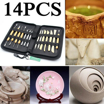 14pcs/ Wax Clay Soap Carvers Tool Modelling Carving Sculpting Pottery DIY Craft
