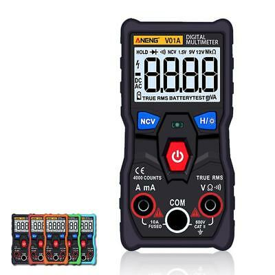 ANENG V01A Automatic Digital Multimeter True-RMS intelligent NCV 4000 Counts