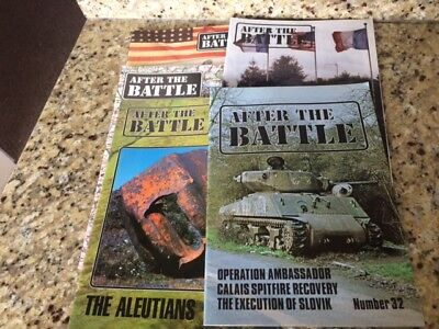 AFTER THE BATTLE 5 copies nos. 32,62,88,115,138