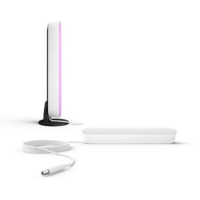 Philips Hue Play White & Color Ambiance Tischleuchte, weiß, Doppelpack