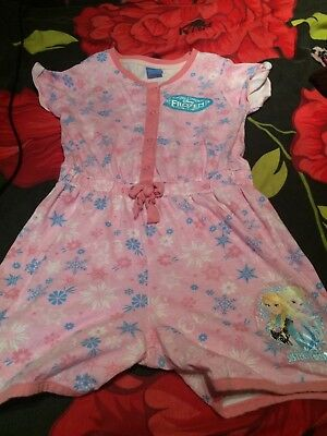 Disney frozen playsuit age 7 to 8