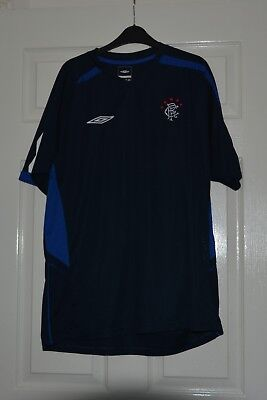 Glasgow Rangers Training Top By Umbro, Size XL