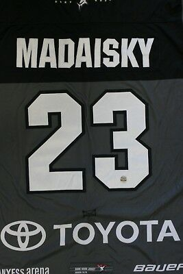 Kölner Haie Trikot 18/19 Pre Season HOME, #23 MADAISKY Game-Worn Gr. L