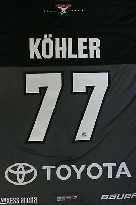 Kölner Haie Trikot 18/19 Pre Season HOME, #77 KÖHLER Game-Worn Gr. XL