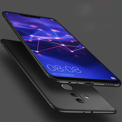 For Huawei Mate 20 Lite Luxury Ultra Thin Soft TPU Matte Back Case Cover Mate 10