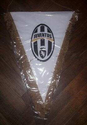 Gagliardetto Juventus Ricamato Match Worn Pennant Embroidered