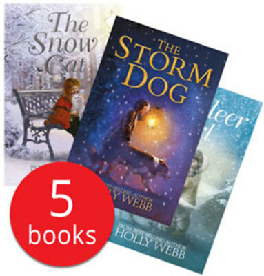 Holly Webb Winter Stories Collection - 5 Books