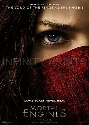 Mortal Engines Movie Film Poster A2 A3 A4A5