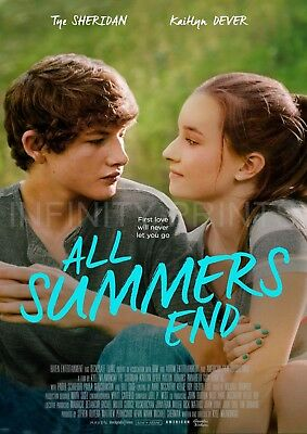 All Summers End Movie Film Poster A3 A4