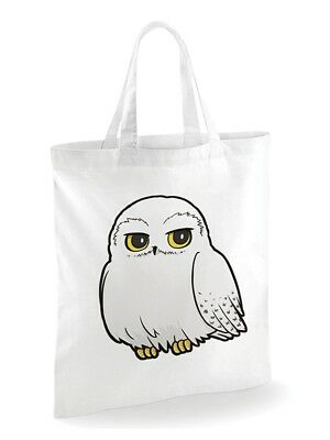 harry potter dessin animé officiel hedwig sac en toile coton shopping eco réutil
