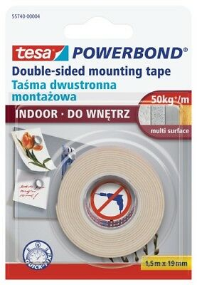 tesa Powerbond® INDOOR Montageband 1,5m x 19mm 55740