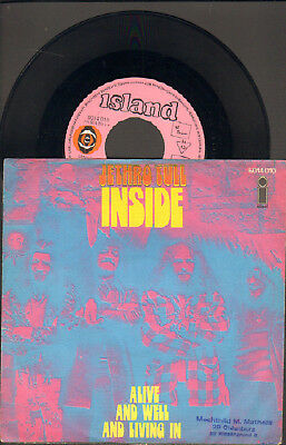 "Jethro Tull-7""-45-Ps- Inside- Pink Island-Germany- 1970"