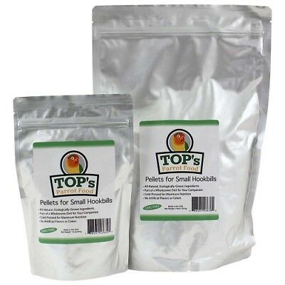 TOTALLY ORGANICS TOP ORGANIC BIRD PELLETS FOR SMALL PARROTS - 340g