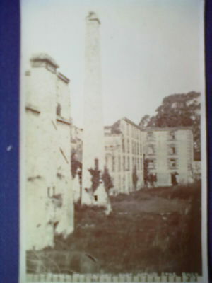 Post Card. Ruined Penitentiary, Port Arthur, Stas, Baily