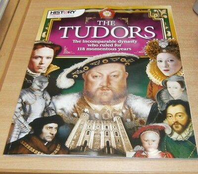History Revealed magazine Collector's Editions The Tudors; Incomparable Dynasty