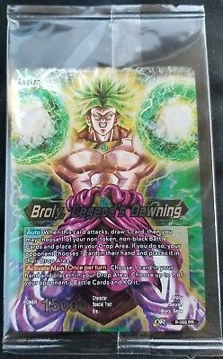 BROLY // LEGEND'S DAWNING Dragon Ball Super Card Game Movie Promo P-068