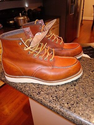 Red Wing Heritage 875 Classic Moc Toe Size 9.5 E2