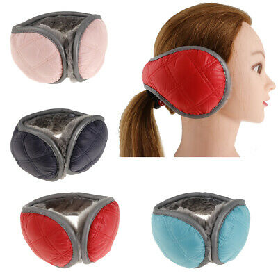 Foldable Ear Muffs Warmers for Winter Waterproof Ear Covers Unisex