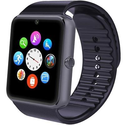 Smartwatch Phone for iPhone Android iOS Smartphone Fitness Tracker Camera Sim TF